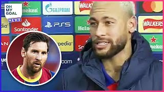 Why did Neymar drop a bombshell about Leo Messi? | Oh My Goal