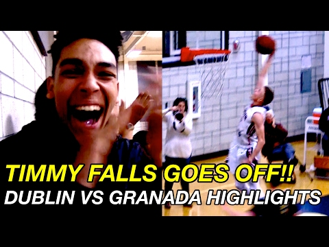 Timmy Falls Leads Dublin Over Granada On Senior Night! Full Game Highlights!