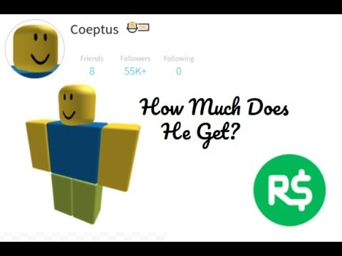 How Much Robux Does Coeptus Get From Bloxburg? - YouTube