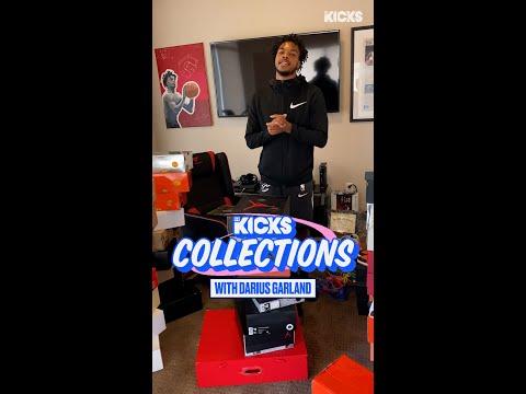 Cavs Rookie Darius Garland Shows His INSANE Sneaker Closet on B/R Kicks Collections