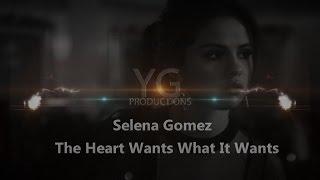 The heart wants what it - selena gomez(karaoke / instrumental cover)