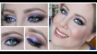 GLITTER LINER TUTORIAL ♡♡(ARE YOU READY FOR SOME PURPLE GLITTER LINER? I certainly hope so. I was so happy to get such an amazing reaction to this look so i HOPE you all ..., 2014-12-11T02:22:45.000Z)