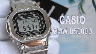 Обзор CASIO GMW-B5000D-1 стальные 5000-е / Модель 2018 года