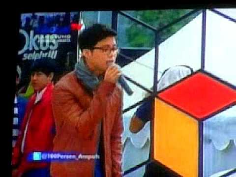 17/12/12 Yovie and Nuno - Manusia Biasa at 100% Ampuh GlobalTV