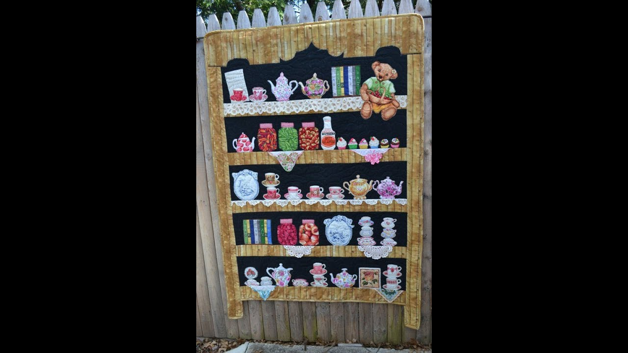 Episode 99 Part 3 BOOKSHELF Quilt Tutorial Constructing Our Shelves
