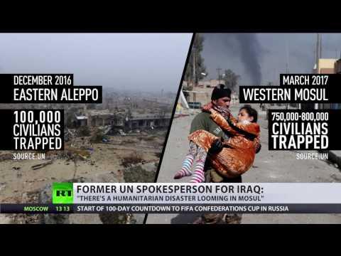 'Humanitarian crisis looming in Mosul' - fmr UN spokesperson for Iraq
