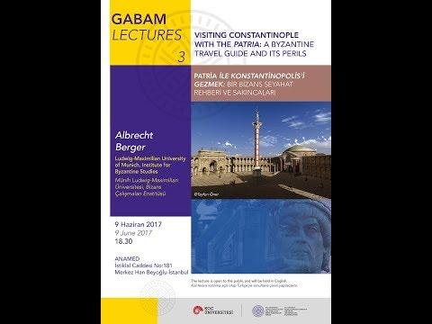 GABAM Lectures 3 Albrecht Berger