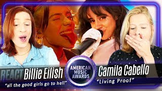 Baixar CAMILA CABELLO e BILLIE EILISH - AMAs 2019 Live Performance REACTION