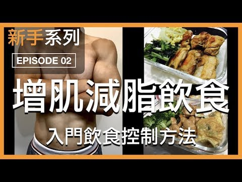 減肥增肌,入門飲食菜單設計 IIFYM 新手系列 EP02