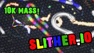 Slitherio gameplay NO HACKS AND MODS no cheating !!