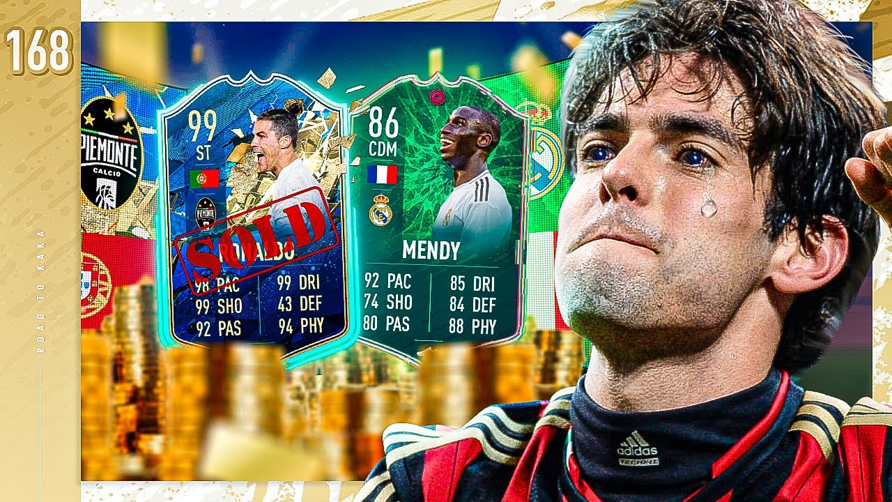 WHAT IS MY LUCK!!? SELLING 99 TOTS RONALDO! - FIFA 20 KAKA ROAD TO GLORY #168
