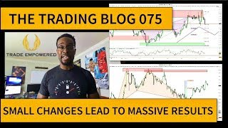 FOREX TRADING BLOG 075 - Small Changes Lead to MASSIVE Results