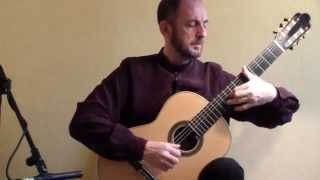 Xavier Coll, Guitar: Bach Cello Suite No. 6. Prelude