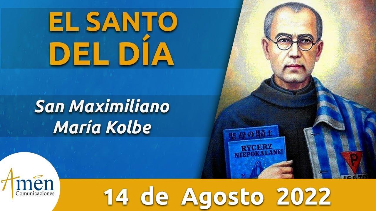 San Maximiliano Maria Kolbe l Viernes 14 de Agosto de 2020 l Padre Carlos Yepes