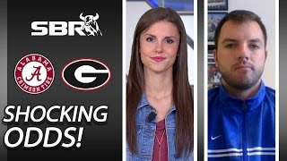 Shocking College Football Odds Found on Alabama vs. Gerogia Matchup
