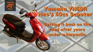 2001 Yamaha Neo's 50cc sco…