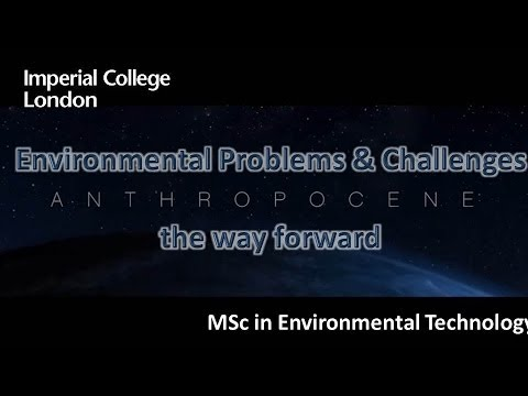 THE WAY FORWARD: Environmental Problems & Challenges