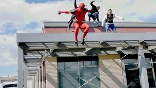 Deadpool Parkour(Deadpool Parkour You may have seen Deadpool vs Boba Fett, and Deadpool vs Deathstroke but how would Deadpool (The merc with a mouth) faire up against ..., 2016-04-02T01:20:09.000Z)