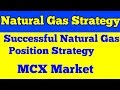 NAURAL GAS  POSITIONAL TRADING STRATEGY  IN MCX COMMODITY MARKET?