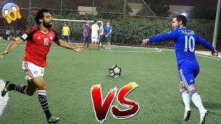 فخر العرب محمد صلاح ضد هازارد !! ( ابداع الفرعون الصغير لا يفوتكم !! )