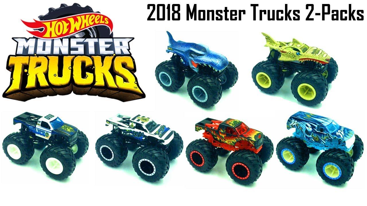 New Hot Wheels Monster Truck 2018 Demolition Doubles
