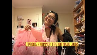 SPRING/SUMMER SMALL TRY ON HAUL| OUTFIT IDEAS 2018