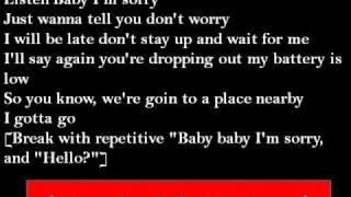 Backstreet Boys  - The Call  Lyrics