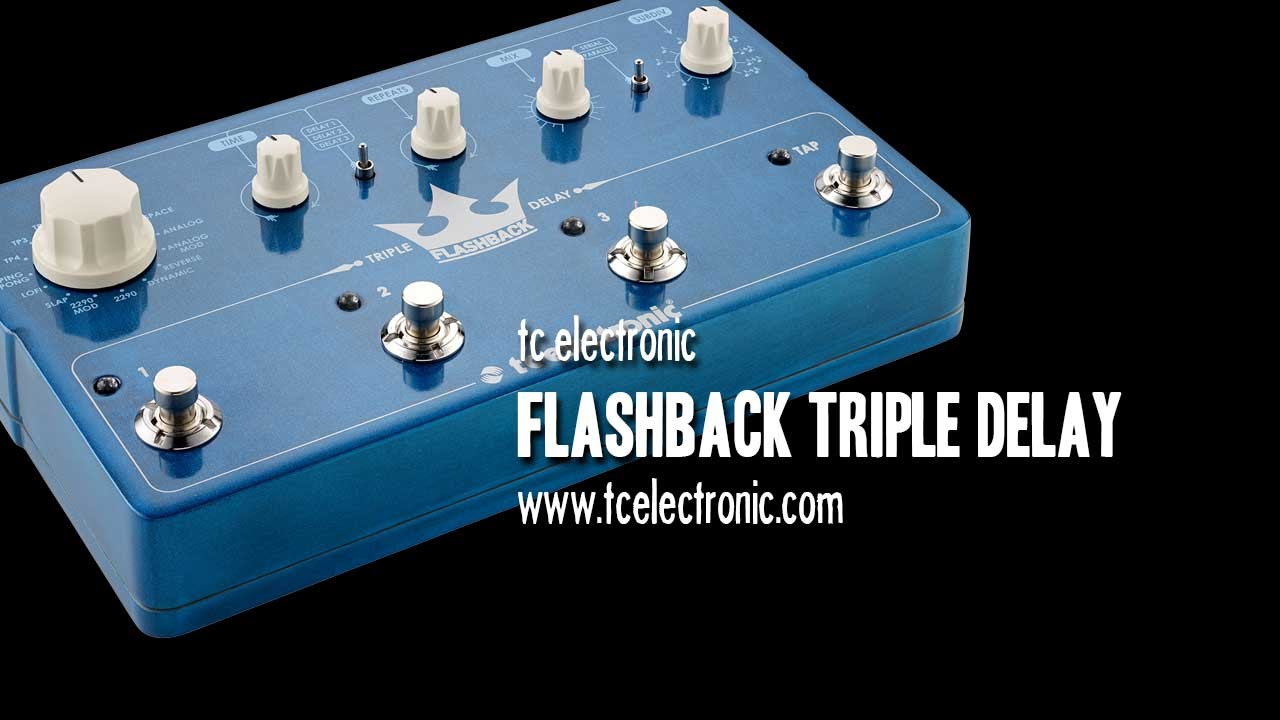 tc electronic flashback triple delay demo youtube. Black Bedroom Furniture Sets. Home Design Ideas