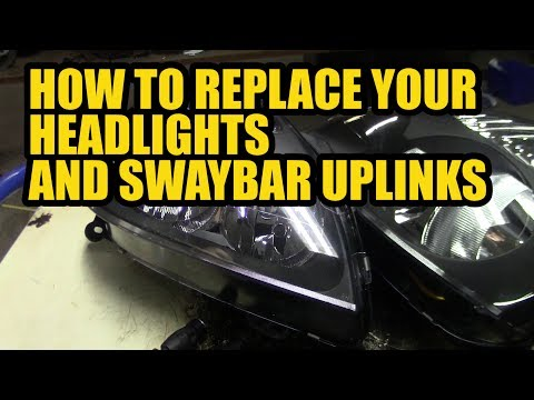 How to replace the headlights and uplinks of your Renault Clio 2003