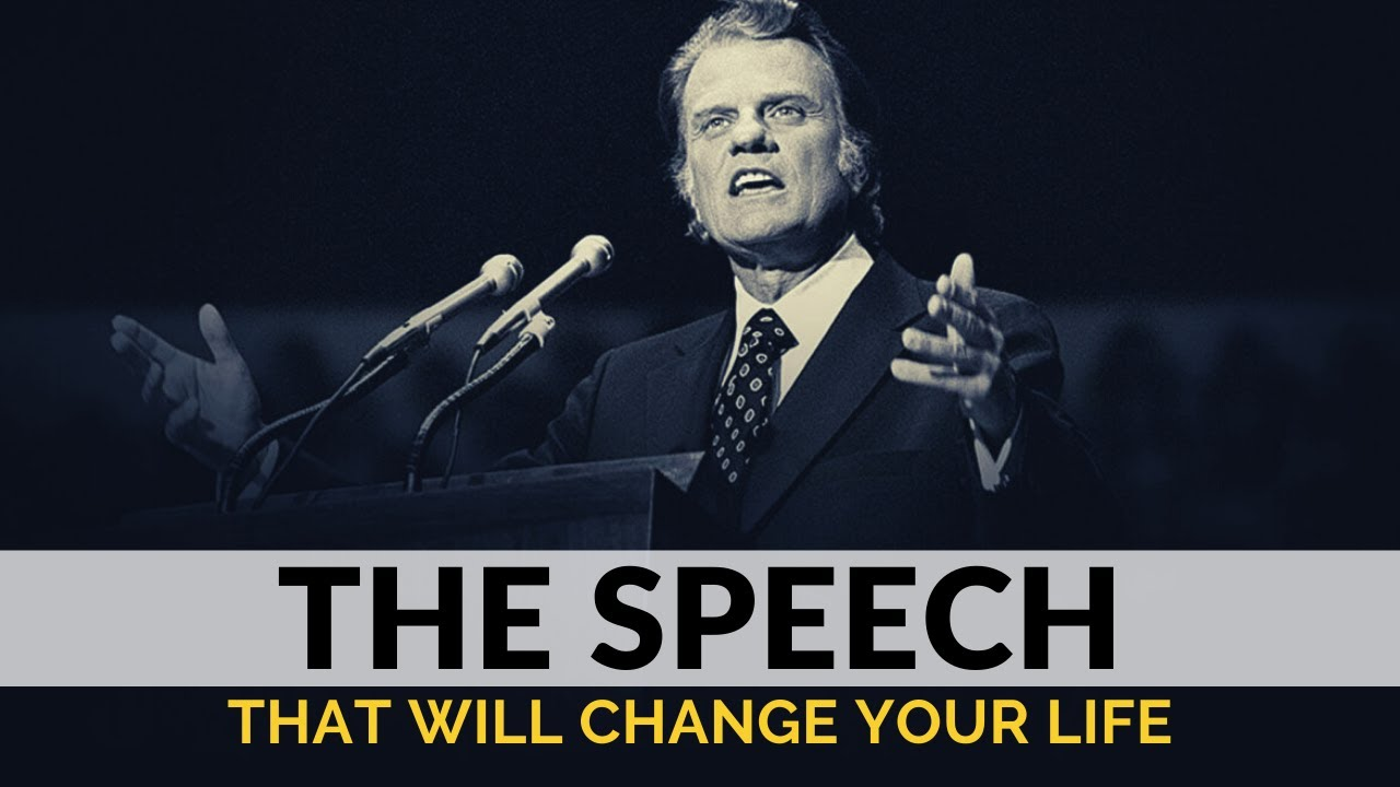 JESUS SAVES | Billy Graham - Inspirational & Motivational Video