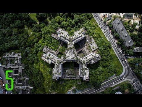 5 Amazing Abandoned Places on Google Earth