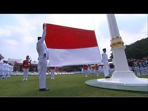 Upacara Peringatan Proklamasi Kemerdekaan ke-73 Republik Indonesia