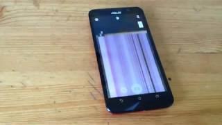 Полосы на экране телефона asus, полосы на экране asus zenfone2 как починить полосы на экране