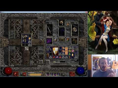 ICETHOTT Almost DIES!!!!  (And: How to Cube Socket Armor) Diablo 2