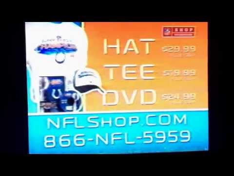 2007 Colts Super Bowl 41 champs gear commercial