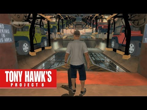 Tony Hawk's Project 8 on SICK! - Factory (PS3 Gameplay)