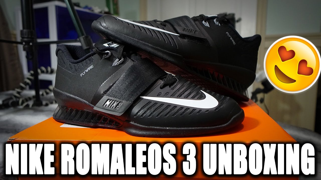 Nike Romaleos 3 Unboxing - Powerlifter's First Impression