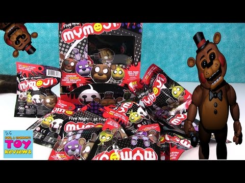 FNAF MyMoji Funko Mystery Blind Bag Opening Five Nights At Freddys | PSToyReviews