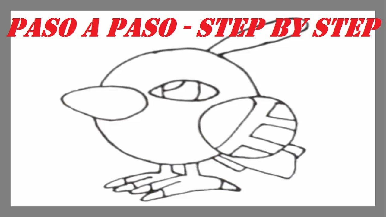 Como dibujar a Natu Pokemon l How to draw Pokemon Natu  YouTube