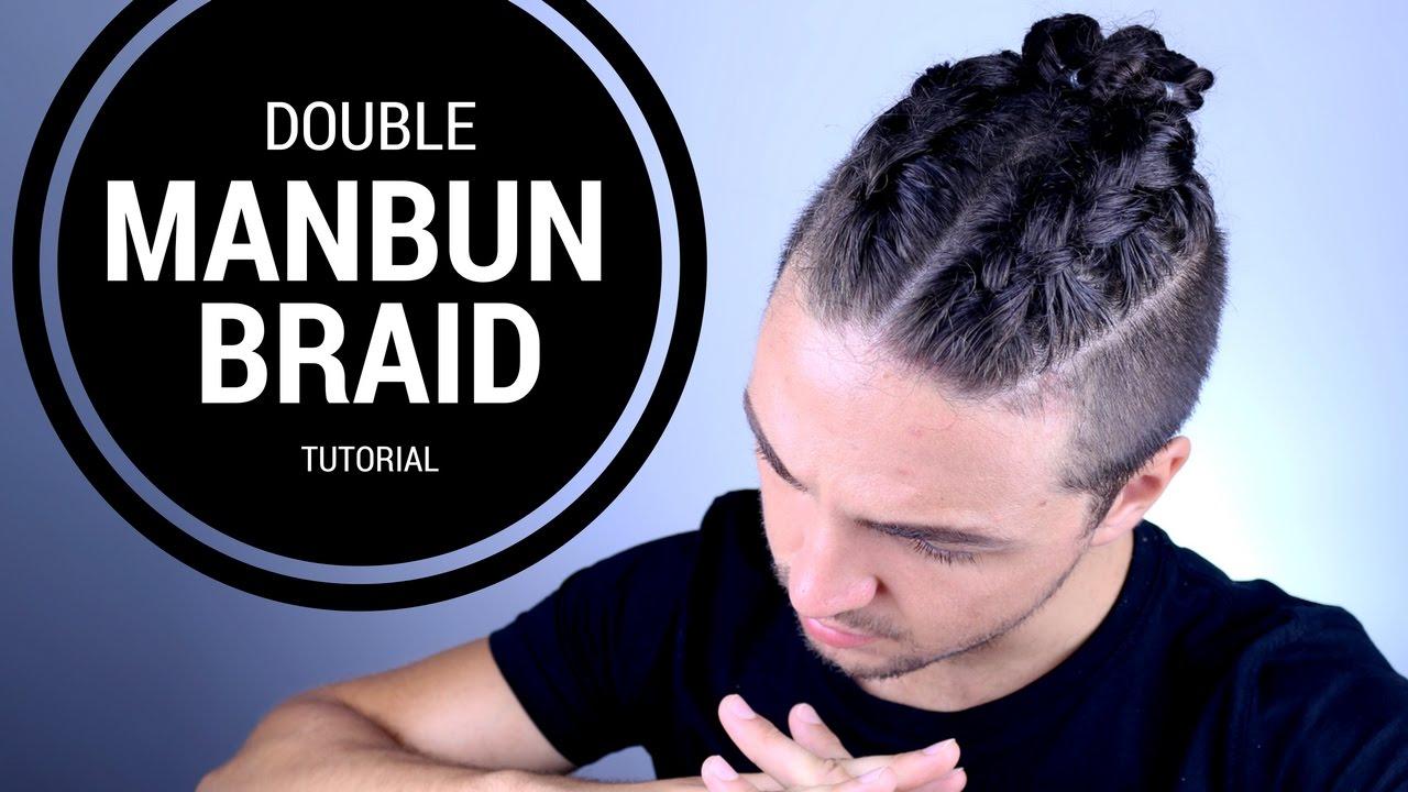 ✅ double manbun braid tutorial - braiding made easy