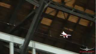 E-Flite UMX Gee Bee R2 Candid Flight Video