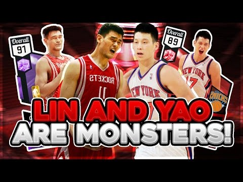 NBA 2K17 MYTEAM AMETHYST YAO MING AND RUBY JEREMY LIN GAMEPLAY! IT HAPPENED AGAIN!