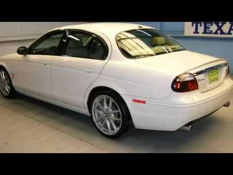 2007 Jaguar S-TYPE R San Antonio TX - YouTube