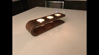 Build this Candle Holder