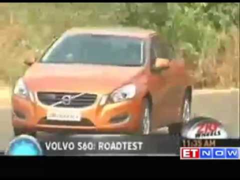 Volvo S60 test drive by ETNOW