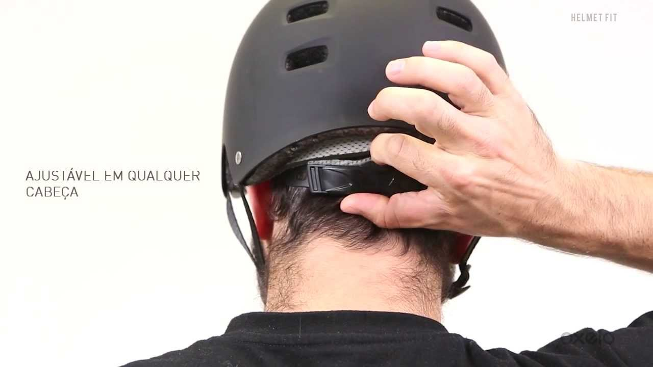 faab9538b Capacete Fit - Inovação Exclusiva Decathlon - YouTube