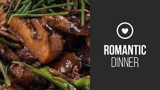 Warm Mushroom Salad || Around The World: Romantic Dinner || Gastrolab
