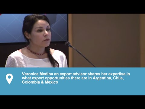 Doing Business in the Americas | Exporting to Argentina, Chile, Colombia & Mexico | Veronica Medina