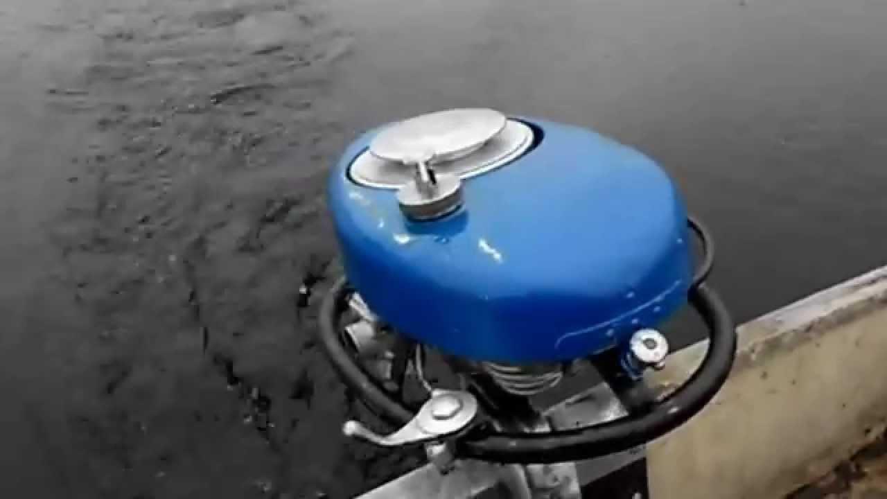установка мотора на лодку пелла