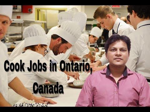 Cook Jobs In Ontario, Canada